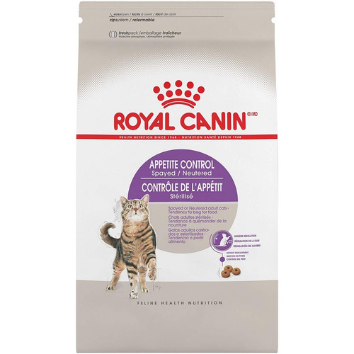 royal canin spayed neutered appetite control 5.9 kg p/ gato