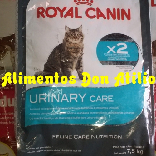 royal canin urinary care x 7.5 + envio gratis caba