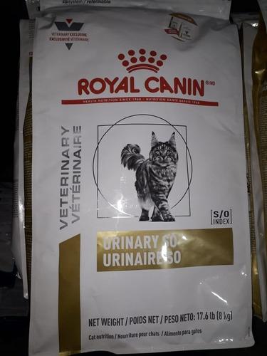 royal canin urinary so felino 8 kg 100% original