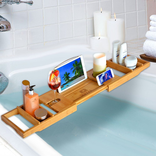 Royal Craft Wood Bandeja De Lujo Caddy Tray, Bandeja Para Ba ...
