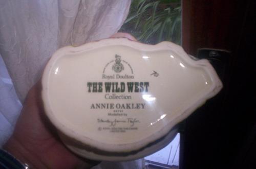 royal doulton el lejano oeste annie oakley