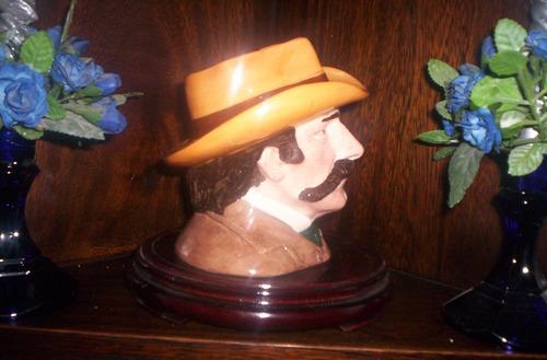 royal doulton el lejano oeste el sheriff wyatt earp
