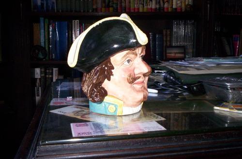 royal doulton jarra titulada capitan morgan tamaño grande