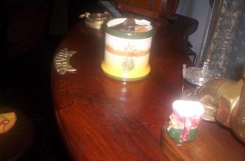 royal doulton serie cocheros barrilito tabaquera