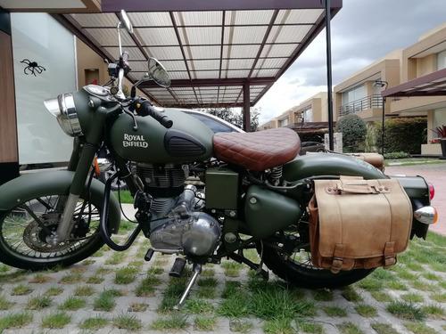 royal enfield 350cc battle green (verde)