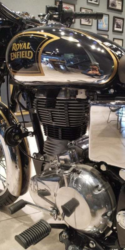 royal enfield 500 classic chrome rosario