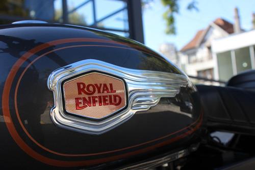 royal enfield bullet 500 inyección gris 0 km abs