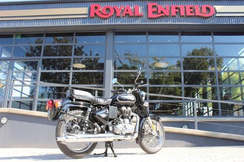 royal enfield bullet 500 inyección negra 0 km abs