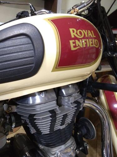 royal enfield classic 350 color crema
