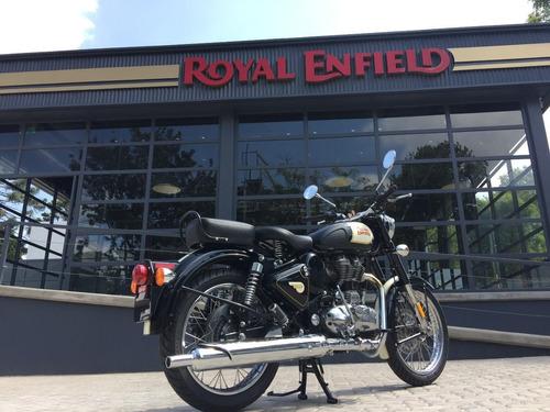 royal enfield classic 500 black 0 km - entrega inmediata