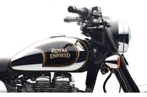 royal enfield classic 500 chrome