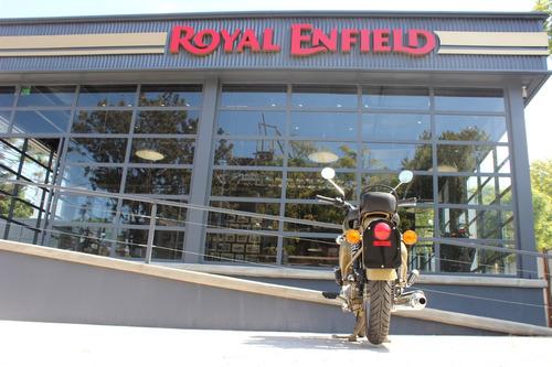 royal enfield classic 500 desert storm- vicente lópez