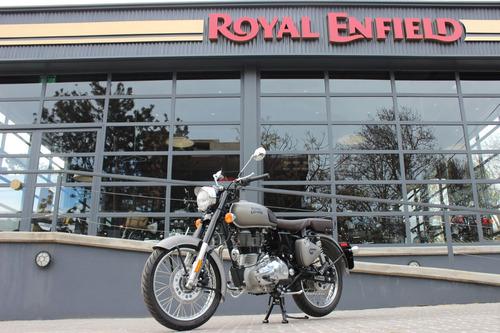 royal enfield classic 500 gun grey - re vicente lopez