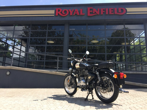 royal enfield classic 500 negra 0 km - 12 cuotas sin interés