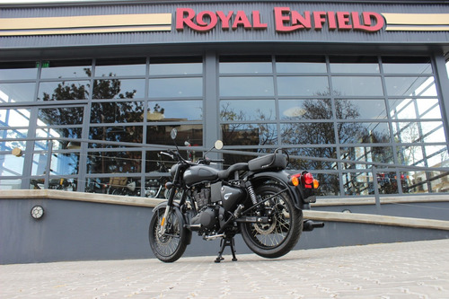 royal enfield classic 500 negra - financiación sin interés