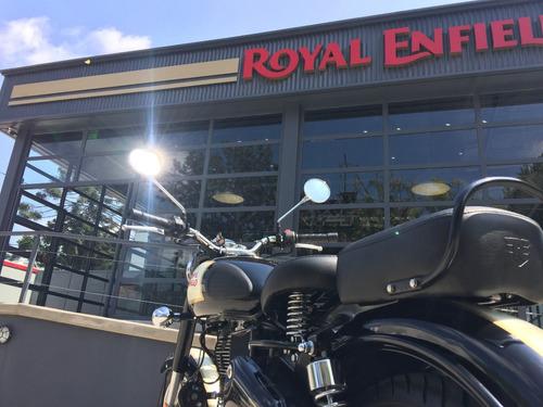 royal enfield classic 500 negra - vicente lópez