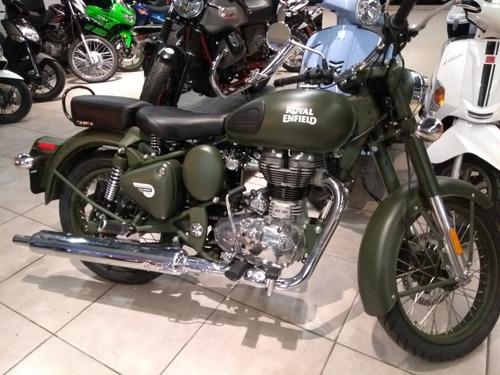royal enfield classic battle green 500 cc