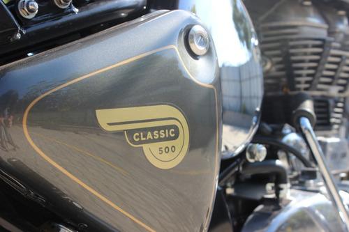royal enfield classic chrome 500 0 km 2018