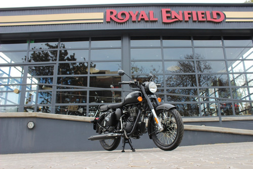 royal enfield classic stealth black 0 km inyección abs