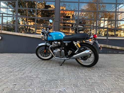 royal enfield continental gt 650 azul - no scrambler no bmw