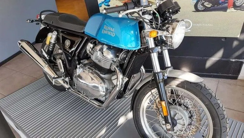 royal enfield continental gt 650 okm 12 cuot. sin interes