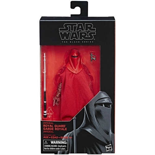 royal guard black series #38 star wars 6'' pulgadas