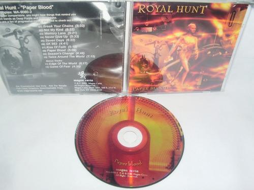 royal hunt ~ paper blood