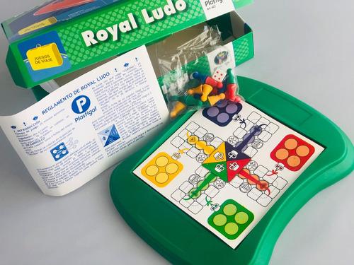 royal ludo magneticos - juegos de viaje