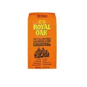 royal oak 195228017 lump charcoal 1 / 17,6 libras