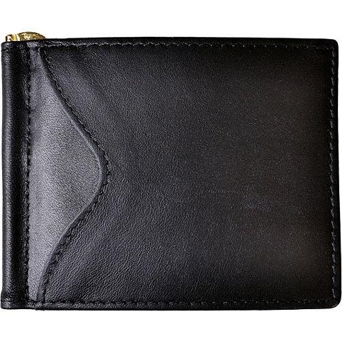 royce leather rfid bloqueo carpeta del clip del dinero