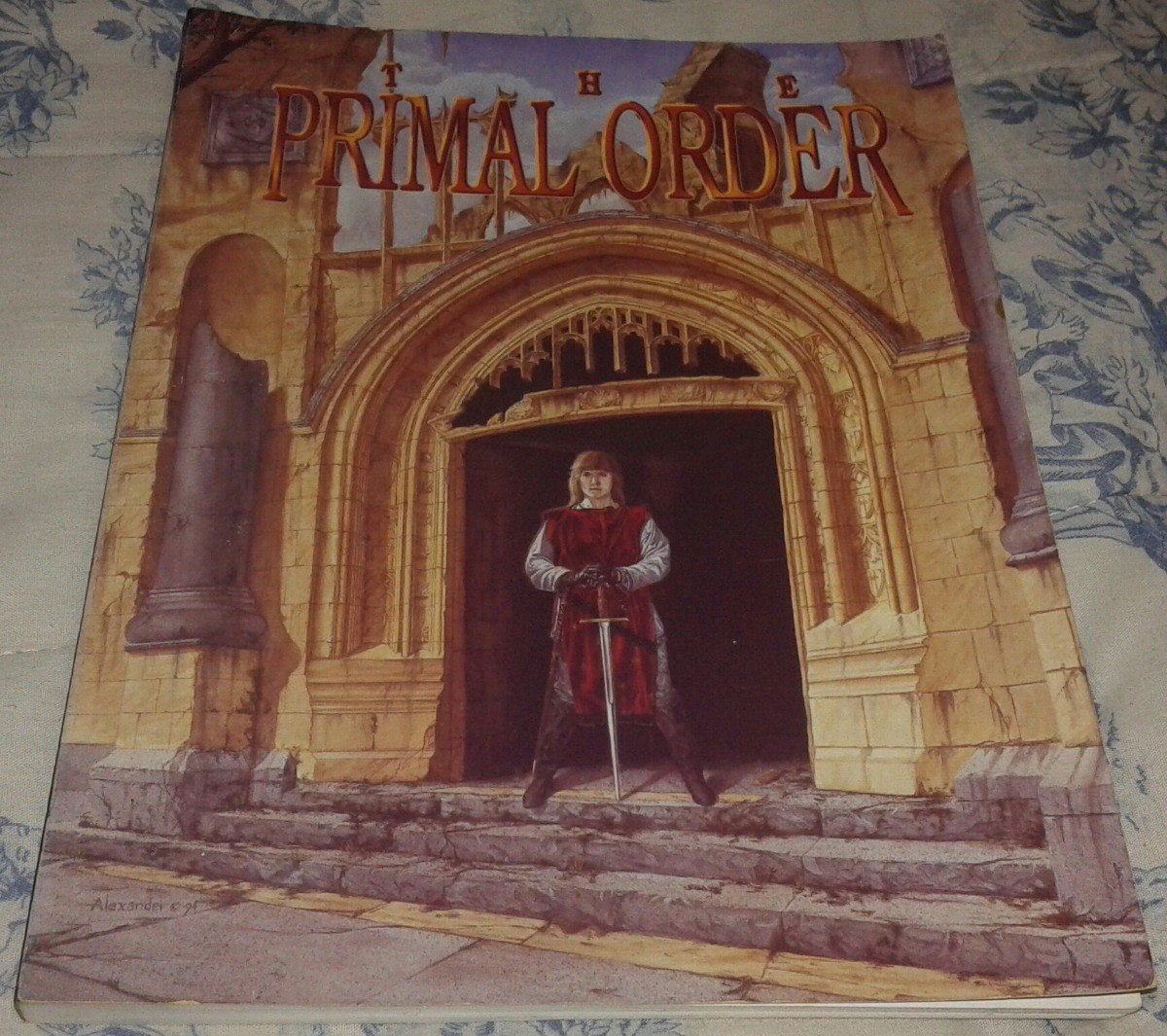 Rpg The Primal Order Peter Adkison Wizards Of The Coast 1998
