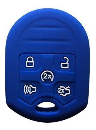 rpkey keyless entry control remoto key fob de silicona caso