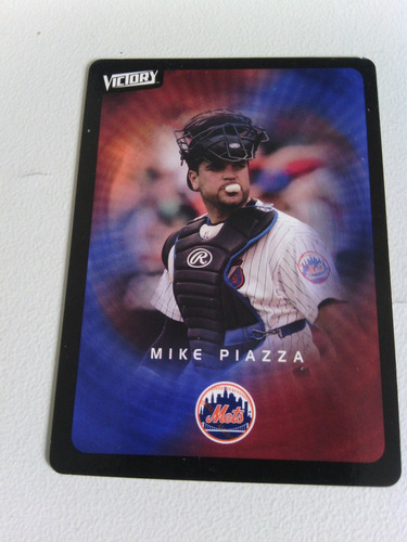 rr mike piazza 2003 upper deck victory