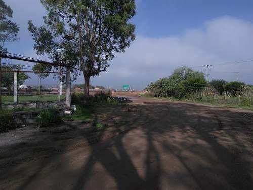 rr-terreno industrial a un costado de barca de méxico