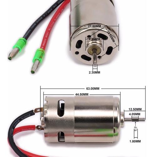 rs-390 potente motor cepillado rc 28.000 rpm autos-avion