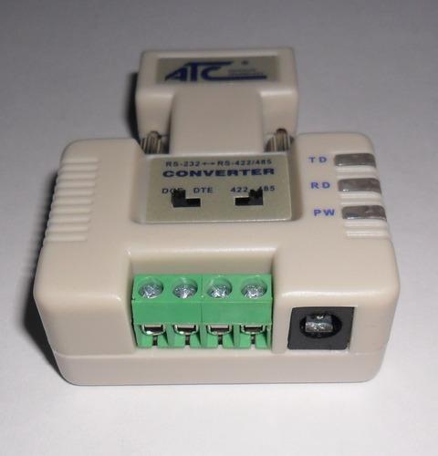 rs232 a rs485 rs422 interface convertidor automatizacion vv4