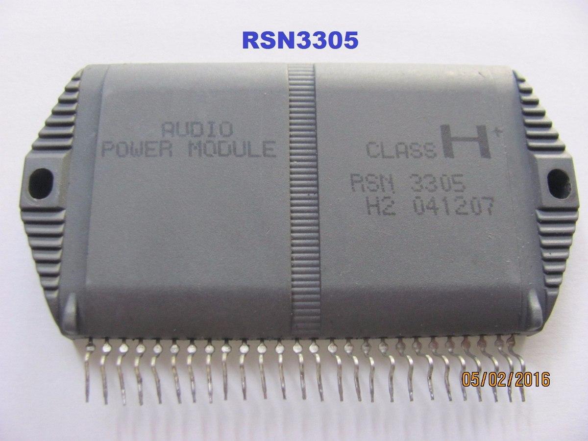 Circuito Integrado : Rsn circuito integrado amplificador de audio panasonic u s