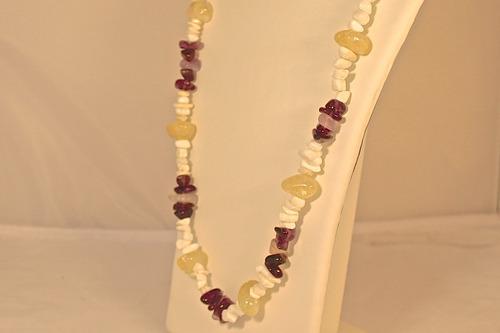 rsp j2218  belle nature maxi colar ametistas quartzo citrino