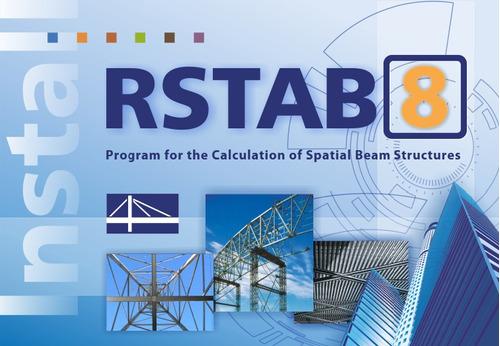 rstab dlubal 8.09.01 software análise estrutural p/ pórticos