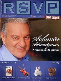 rsvp: salomão / sandra annenberg / mario bernardo garnero