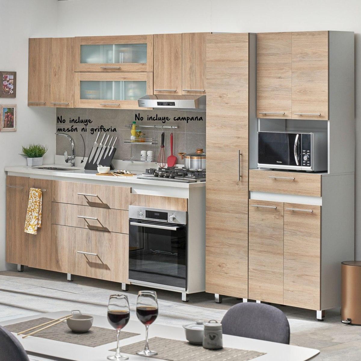 rta cocina integral gibraltar metros 10 puertas 3 acu On cocina integral 3 metros