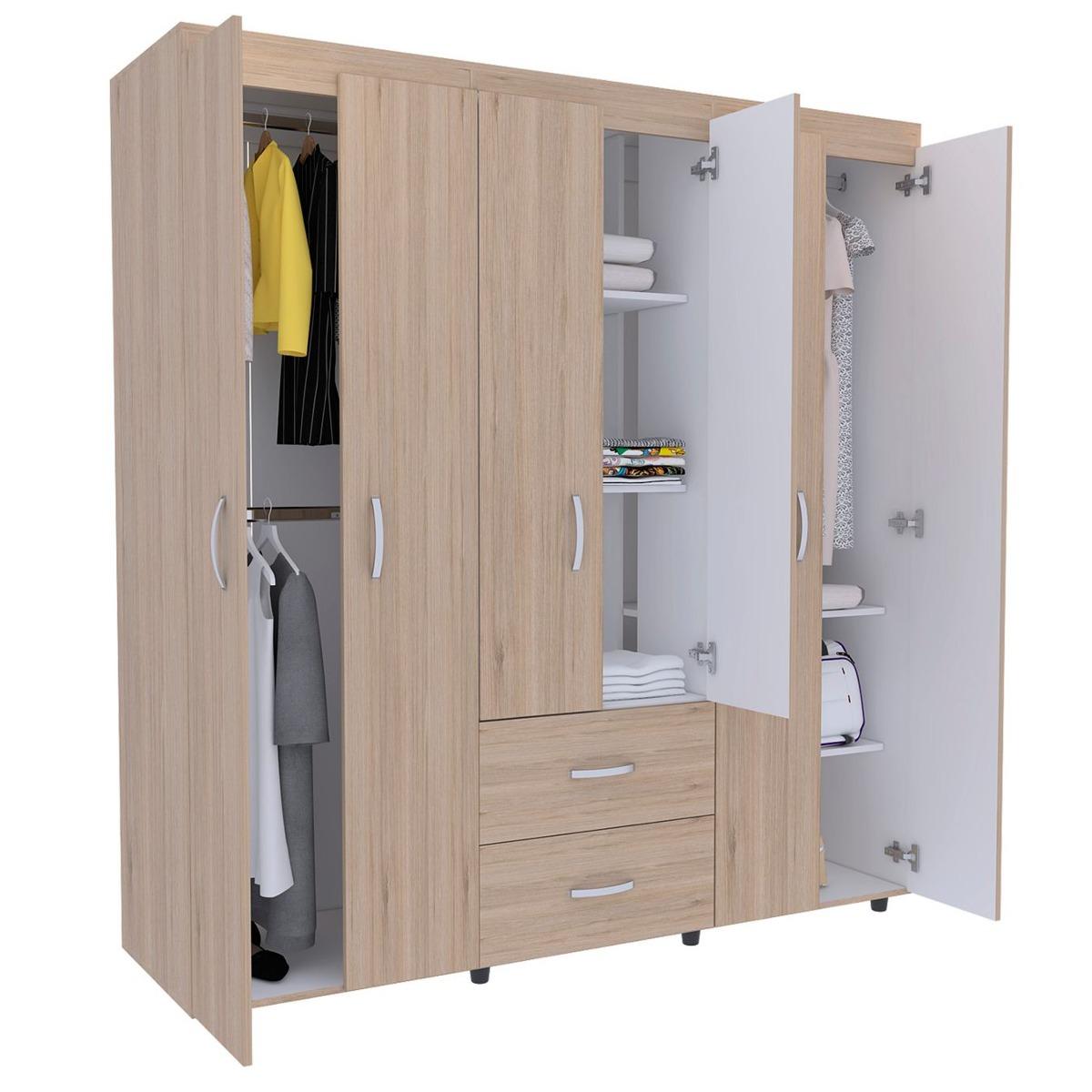 Rta Design Closet Bariloche 180x170.3x50.3cm Muebles Rt Acu2 ...
