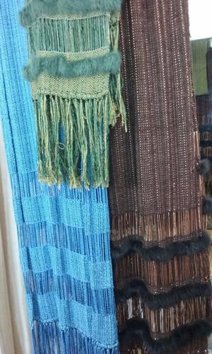 ruana pashimna chal hecho a mano telar