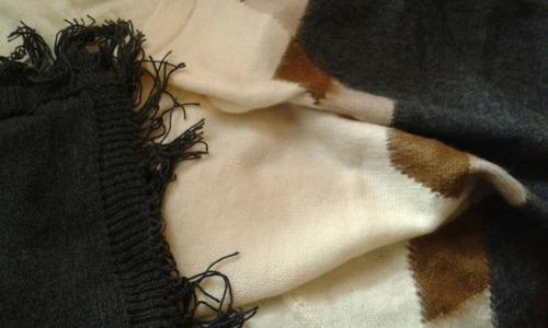 ruana pashmina chal andino llama alpaca regional telar fino