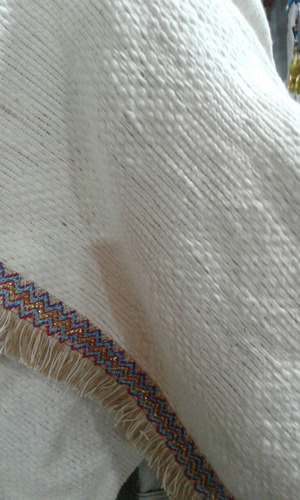 ruanas confeccionadas en telar artesanales