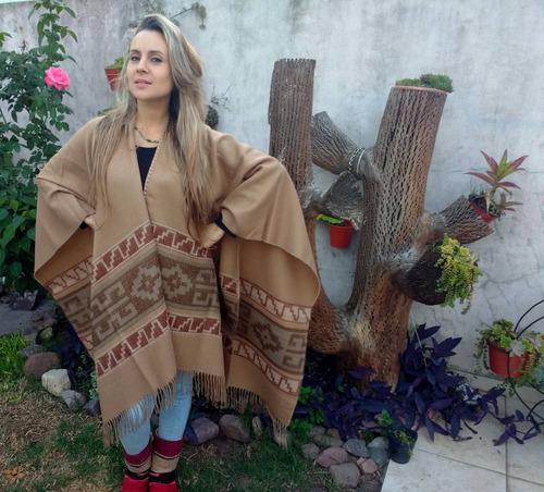 ruanas poncho moda ponchos invierno