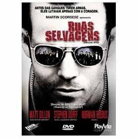 ruas selvagens / original -semi-novo / dvd