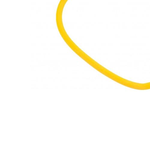 rubber tube médio c/ alça tornozelo exercício mormaii 4461