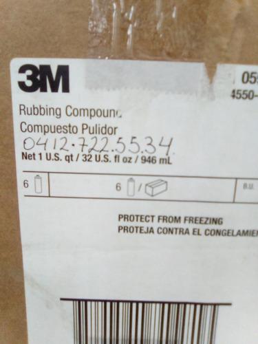 rubbing compound   3m   05973