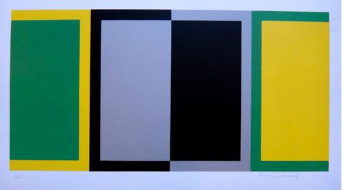 rubem ludolf - serigrafia concretismo rio de janeiro brasil
